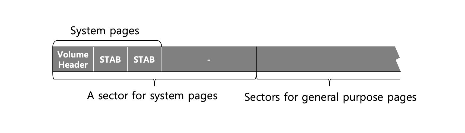 Volume Format